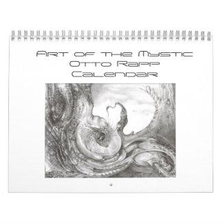 Art of the Mystic Drawings Calendar