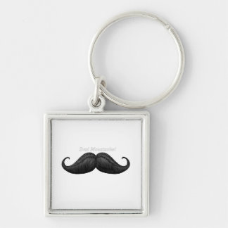 Art of Traditional  Braided Moustache Keychains
