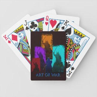 Art of war playing cards