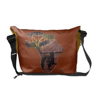 Art off Africa Messenger Bag