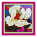"ART-ON-CANVAS: Magnolia Heat.12""x12"" Print"