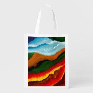 Art on Reusable Grocery Bag