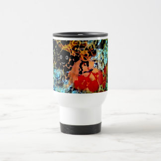 Art on White 11 oz Classic White Mug with Abstract
