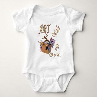 Art Outside the Box Baby Bodysuit