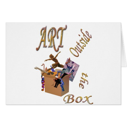 Art Outside the Box Card