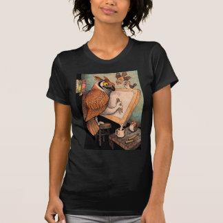 Art Owl Tee Shirt