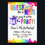 "Art / Paint / Craft Birthday Party Invitations<br><div class=""desc"">Painting Party Invitations,  suitable for any event and any age!</div>"