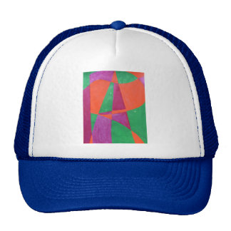 ART painted in abstract word art Trucker Hat