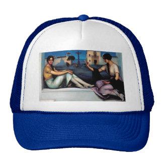 Art Painting, Good luck, Julio Romero de Torres Trucker Hat