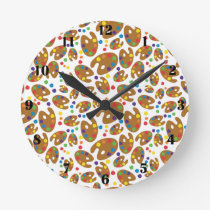 Art Pallet Clock