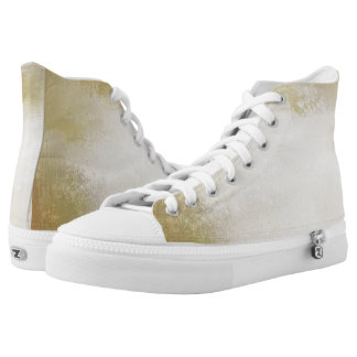 art paper texture for background 2 High-Top sneakers