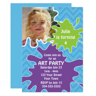 Art Party Card