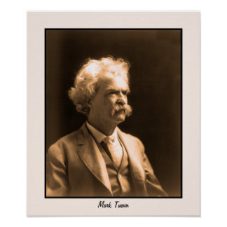 Art photo Mark Twain Poster