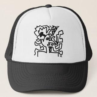 art picture icon trucker hat