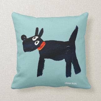 Art Pillow: John Dyer Scotty Dog Pillow