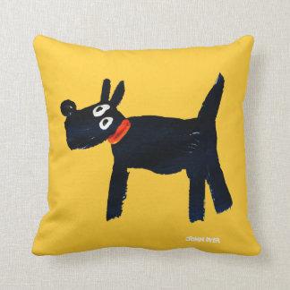 Art Pillow: John Dyer Scotty Dog Throw Pillow