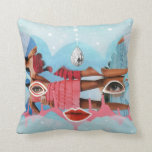 Art Pillow - Spacey Cat and Caped