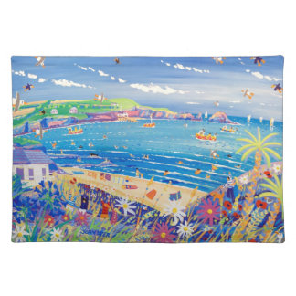 Art placemats: Mother Ivey's Bay Cornwall Cloth Place Mat