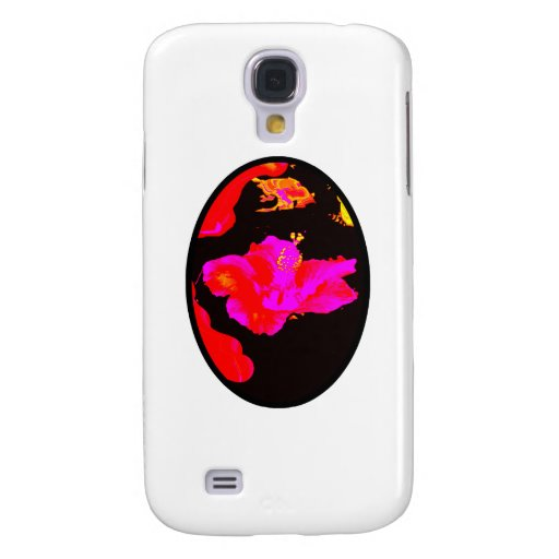 Art Play Hybiscus 4 The MUSEUM Zazzle Gifts Samsung Galaxy S4 Cover