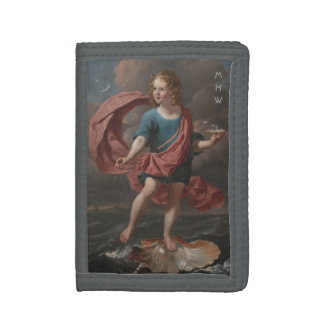 Art Portrait custom monogram wallets