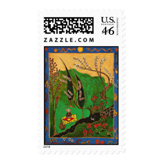 Art Postage Stamps
