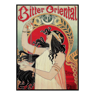 Art Poster: Art Nouveau - Bitter Oriental
