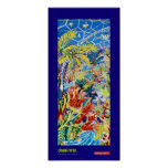 Art Poster: Blue Painter of Eden