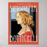 Art Poster: Botticelli Simonetta Vespuci: 20x28