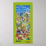 Art Poster: Lime Painter of Eden
