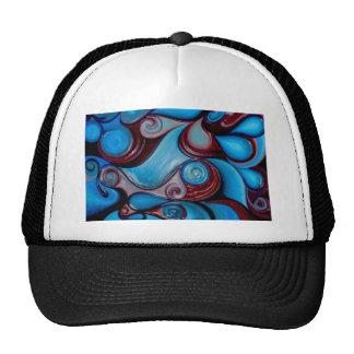 art poster t-shirts print elegant fashion modern trucker hat