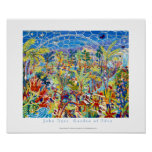 Art Poster: The Eden Project by John Dyer