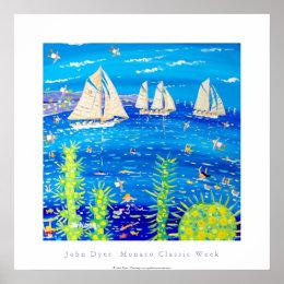 Art Poster: Tuiga, Monaco Classic Week Poster