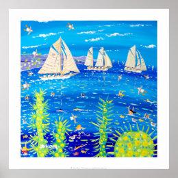 Art Print: Tuiga, Monaco Classic Week Poster
