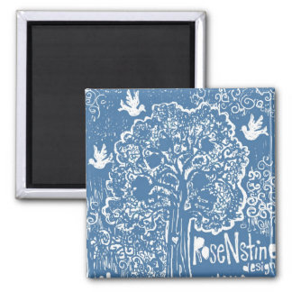 Art Products with RoseNstine Tree Magnet