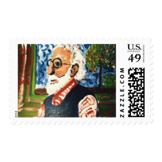 Art Professor Postage