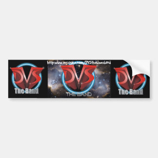 Art Proof R5 for Dave DVS Entertainment - Banne... Bumper Sticker