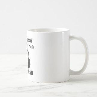 art punk design coffee mug