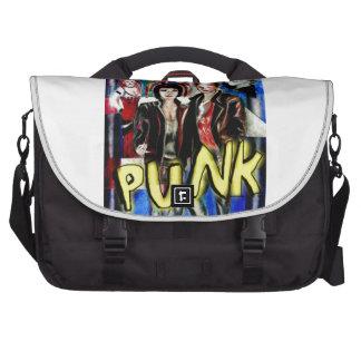 art , Punk rock music, fashion  and style Computer Bag