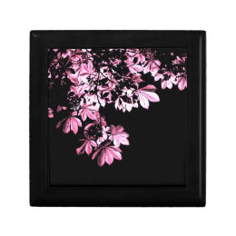 Art purple foliage keepsake box