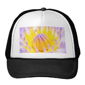 art-purple-lilies hat