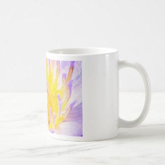 art-purple-lilies classic white coffee mug