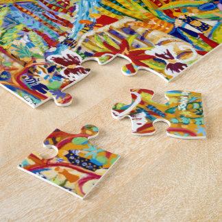Art Puzzle: John Dyer - The Eden Project Jigsaw Puzzle
