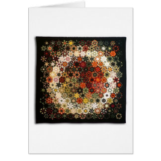 """Art Quilt Greeting Card - """"No. 13 (The Ring)"""""""