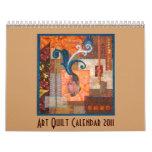 Art Quilts 2011 Calendar