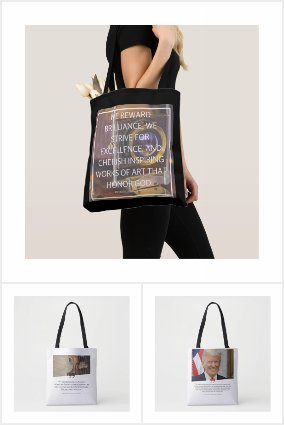 Art Quote Tote Bags