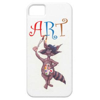Art Raccoon iPhone SE/5/5s Case