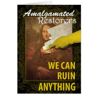 Art Restoration Humor Card