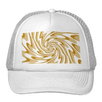 Art Retro Swirl Waves Abstract Trucker Hat