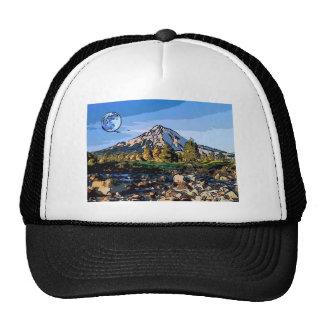art-river mesh hat