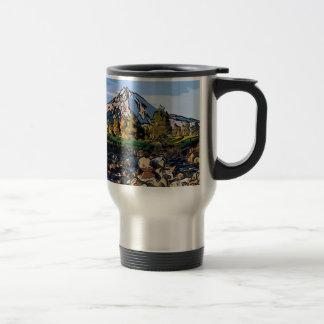 art-river 15 oz stainless steel travel mug